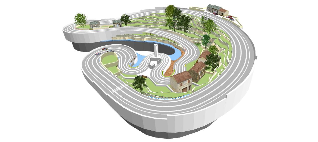 Ultimate Racer - Track Layout Examples
